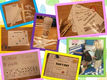 Try Your Best Litaracy Stations for Harcourt Trophies First Grade