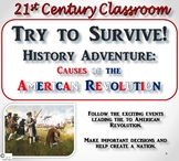 Try to Survive! History Adventure: Causes of the American