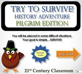 Try to Survive! History Adventure: Pilgrims