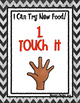 Trying New Foods Steps - Checklist and Posters