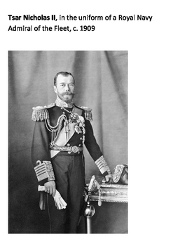 Tsar Nicholas II Word Search