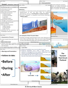 Tsunami - Causes, Characteristics, Effects, Facts and Preventations