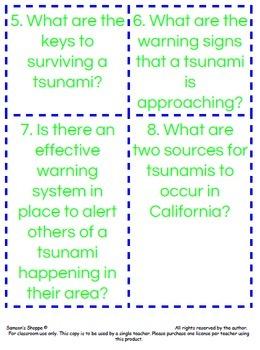 Tsunami Scavenger Hunt