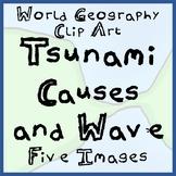 Tsunami!  Clip Art / Illustrations Bundle for Tsunami Caus