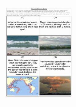 Tsunami Memory Game