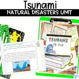 Tsunami Wild Weather Unit of Nonfiction Article Flipbook and Project