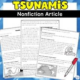 Tsunami Nonfiction Article and Activity