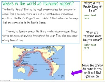 Tsunami Nonfiction Google Classroom Activity
