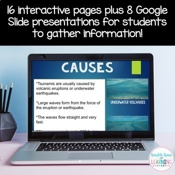 Tsunami Research Digital Unit for Google Classroom