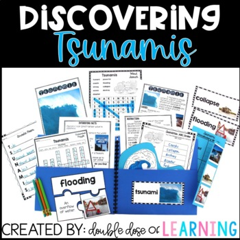 Tsunami Natural Disaster Research Unit with PowerPoint