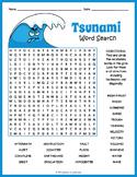 Tsunami Word Search FUN