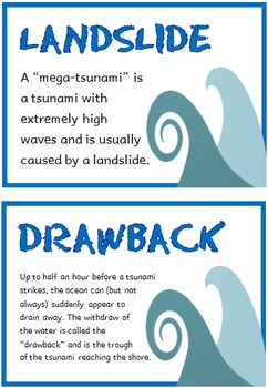 Tsunamis (BUNDLE PACK)
