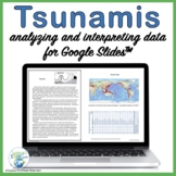 Tsunamis Lesson:  Analyzing and Interpreting Data for Use