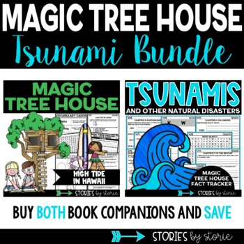 Tsunamis Magic Tree House Bundle