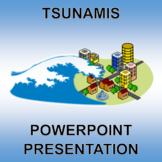 Tsunamis - PowerPoint and Printable! Low Prep.