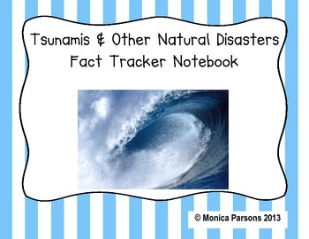 Tsunamis and Other Natural Disasters Research Guide {Fact