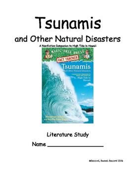 Tsunamis and Other Natural Disasters -- NF Companion to High Tide in Hawaii
