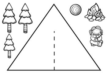 Tt is for Tent Alphabet Activity.