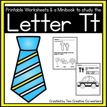 Letter T { Alphabet Practice }
