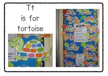 Tt is for tortoise