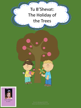 Tu B'Shevat Packet - Holiday of the Trees