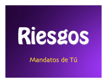 Spanish Tú Commands Jeopardy-Style Review Game