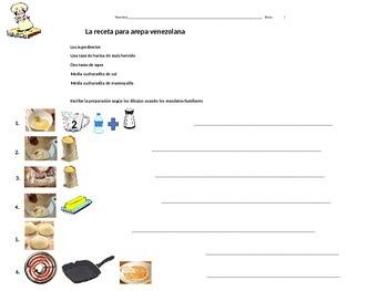 Tu Commands Practice using AREPA recipe