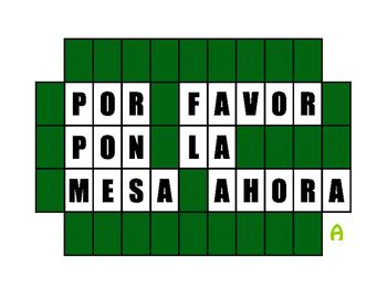 Spanish Tú Commands Wheel of Spanish