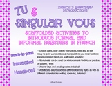 Tu & Vous: Informal & Formal Registers with Greetings: Act