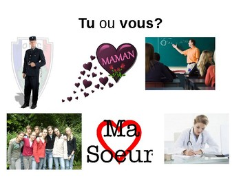 Tu and vous / Using tu and vous in French / Forming questions in French