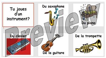Tu joues d'un instrument?