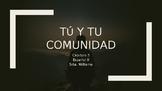 Tu y Tu Comunidad Vocabulary -Realidades 2 Chapter 3