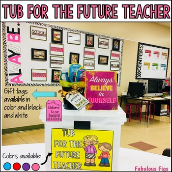 Tub for the Future Teacher