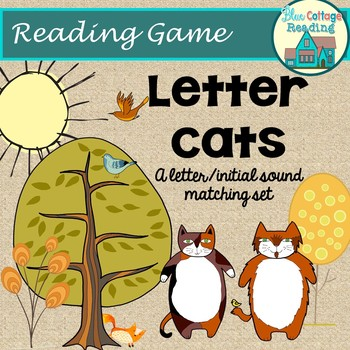 Tubby Tabbies:  A letter cat game