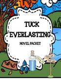 Tuck Everlasting Novel Study Unit
