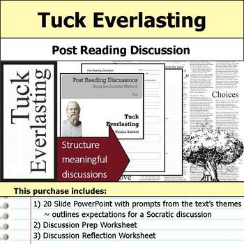 Tuck Everlasting Unit Bundle