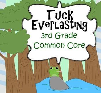 Tuck Everlasting 3rd Grade Common Core Novel Study