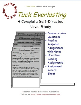 Tuck Everlasting: A Complete Novel Study