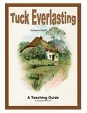 Tuck Everlasting Novel Study Teaching Guide
