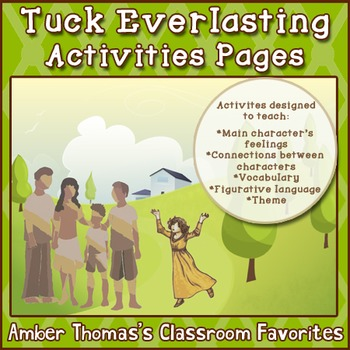 Tuck Everlasting Activities Pages