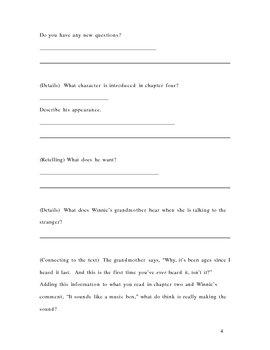 Tuck Everlasting Analytical Novel Study
