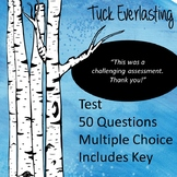 Tuck Everlasting Test (Editable!)
