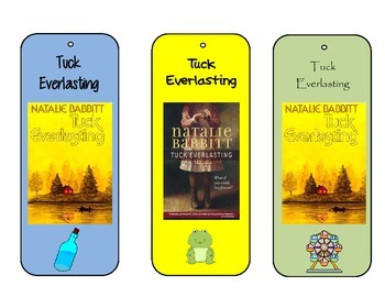 Tuck Everlasting Bookmarks