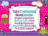 Tuck Everlasting Bundle-Close Rdg, Text-Dependent ?'s, Gr.Orgs for EVERY chapter