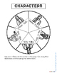 TUCK EVERLASTING: CHARACTER WHEEL INTERACTIVE NOTEBOOK ACTIVITY