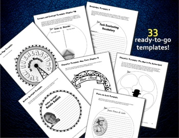 Tuck Everlasting by Natalie Babbitt: Circlebook Book Reports and Novel Unit