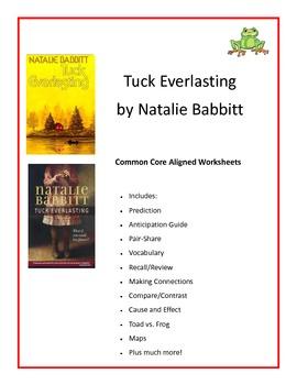 Tuck Everlasting Common Core Aligned 53 Worksheets