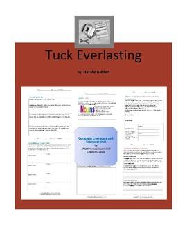 Tuck Everlasting Complete Literature and Grammar Unit