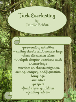 Tuck Everlasting:  Complete Unit