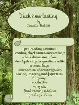 Tuck Everlasting:  Complete Unit